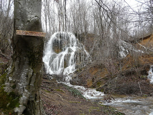 Vodopády pod Padinou Matei (foto Šlimec)