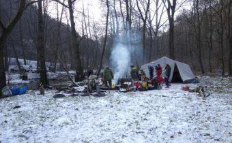 Čachtice – Čerpací pokus v jeskyni Hladový prameň 9-11.2.2018