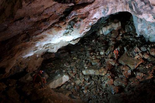 Závaly v Jeskyni trosek(č.27)
