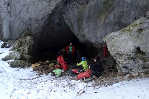 Portál do jeskyně Okno