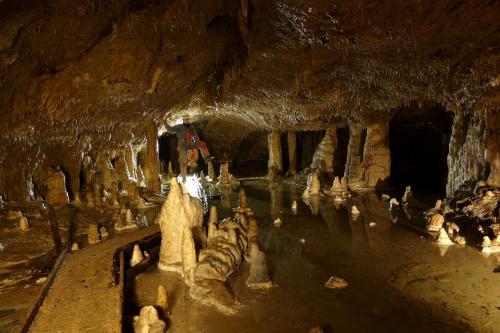 Nekrásnější části jeskyně Okno