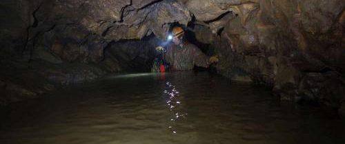 Svatá Helena – Čerpací pokus v jeskyni Alibek 15 – 19.11.2017