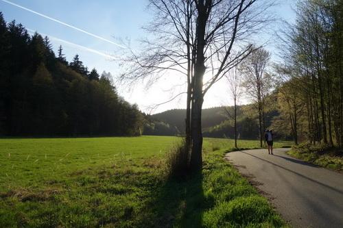 údolí Luhy