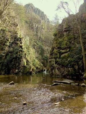 PR Jezírka - tůně pod vodopádem - Foto Alda