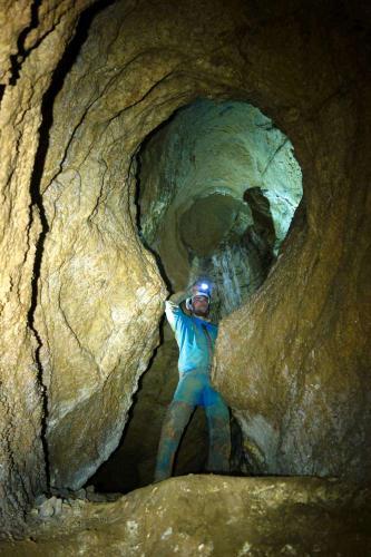 Prostory v Bábiny jeskyni